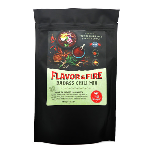 Flavor & Fire Badass Chili Mix