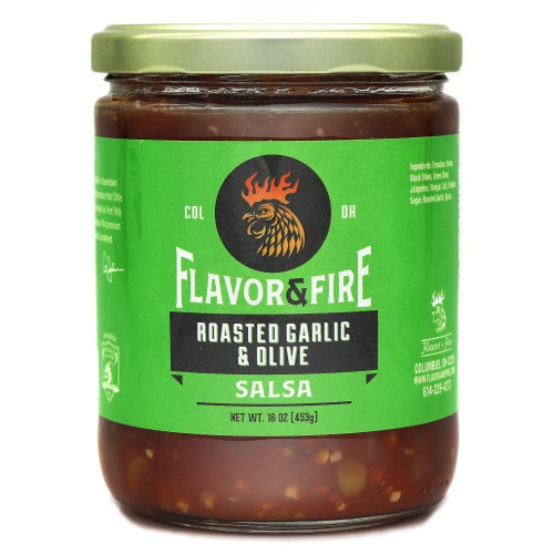 Flavor & Fire Roasted Garlic and Olive