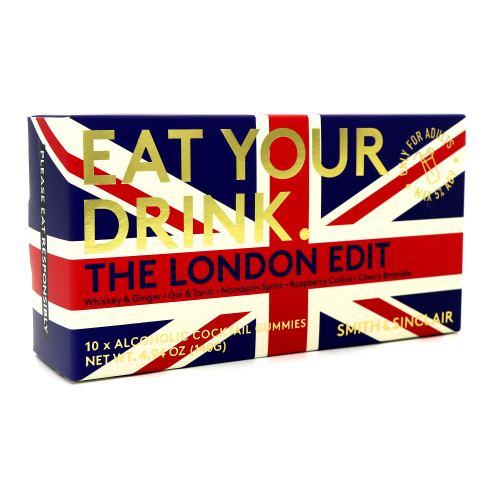 Smith & Sinclair Eat Your Drink - The London Edit Gummies