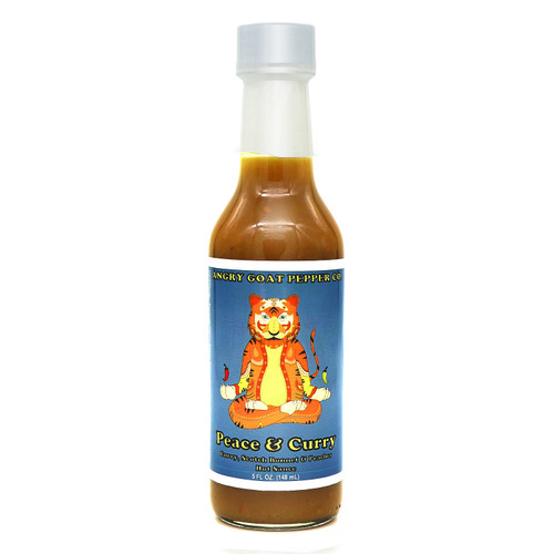 Angry Goat Peace & Curry Hot Sauce