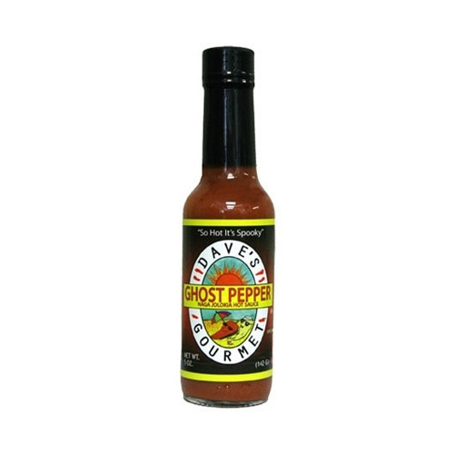 Dave's Ghost Pepper Naga Jolokia Hot Sauce