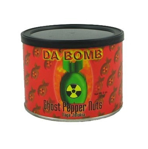 Da Bomb | Ghost Pepper Nuts (Peanuts)
