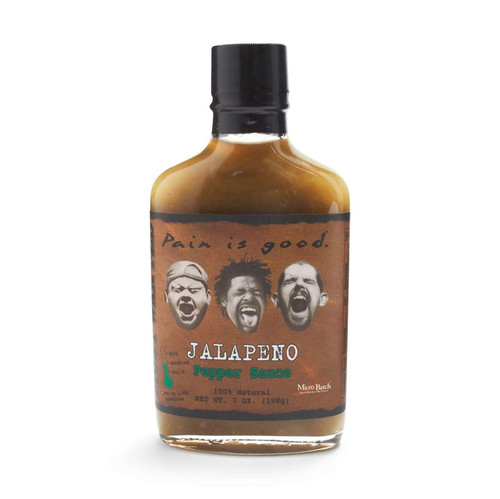 Pain Is Good Jalapeno Pepper Sauce