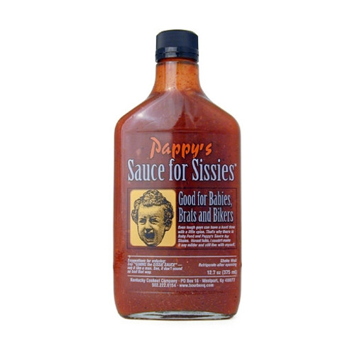 Pappy's Sauce For Sissies Mild Barbeque Sauce