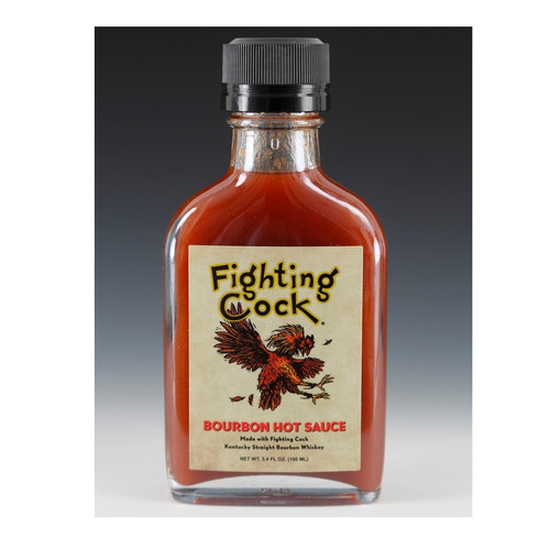 Pappy's Fighting Cock Bourbon Hot Sauce