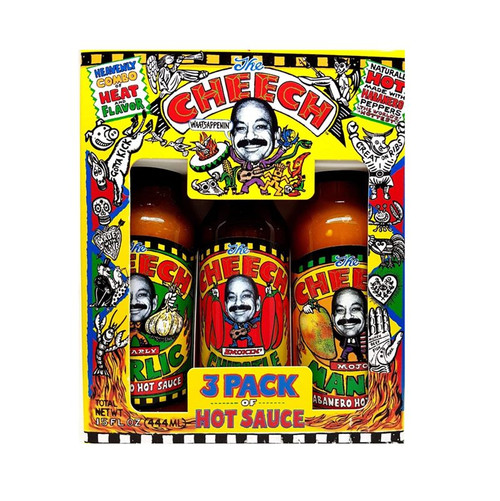 Figeroua Brothers The Cheech 3-Pack Gift Set
