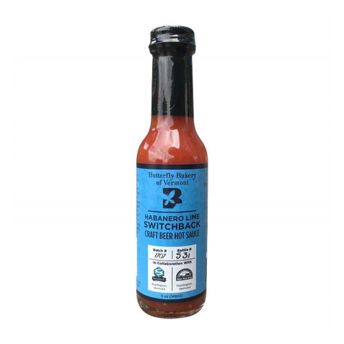 Butterfly Bakery Habanero Lime Switchback Hot Sauce