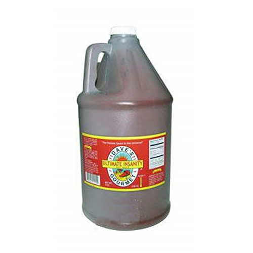 Dave's Ultimate Insanity Sauce Gallon - Bulk Food Service Size