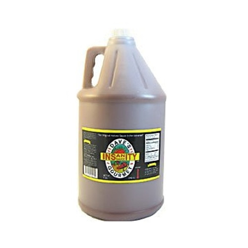 Dave's Gourmet Insanity Hot Sauce, Gallon, Bulk