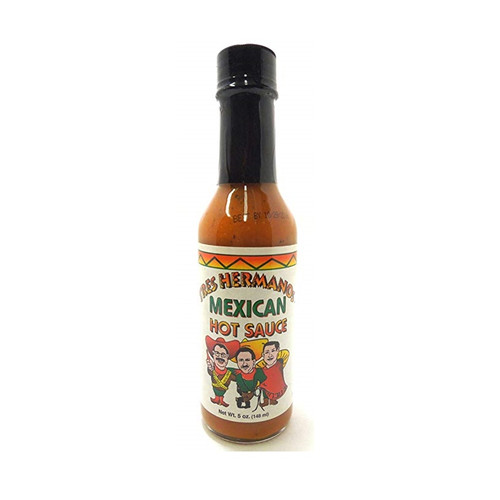 US Sauce Tres Hermanos Mexican Hot Sauce.