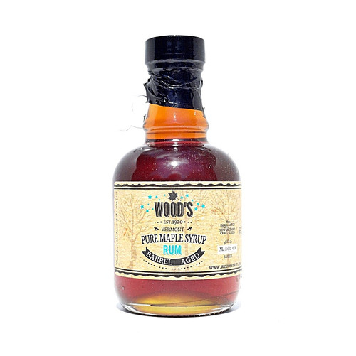 Wood's Pure Maple Syrup - Rum