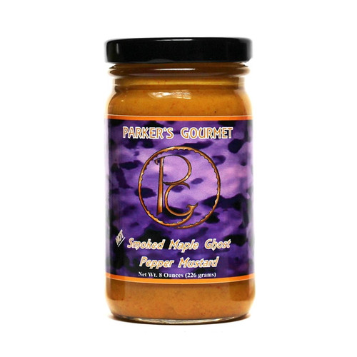 Angry Goat Parker's Gourmet Ghost Pepper Smoked Maple Mustard