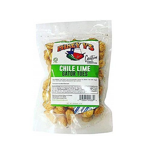 Mikey V's Chile Lime Gator Toes
