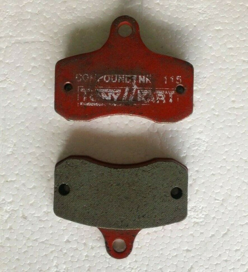 OTK TonyKart Brake Pads NEW Pair Red 115