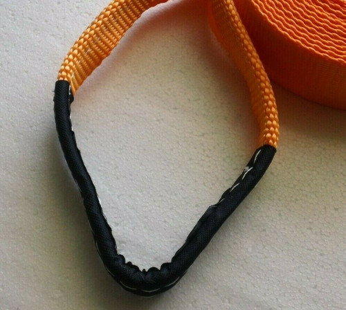 "Shifter Kart - Direct Drive Pull Strap - Start Rope - 2"" Wide w/ Handle Orange"