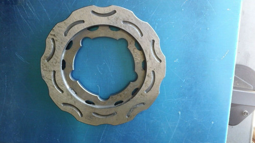 CRG Ven05 Rear Brake Disc Rotor - New - Steel - 6035