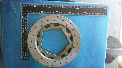 CRG Ven 11 Rear Brake Disc Rotor - New - Steel - AFS 6047