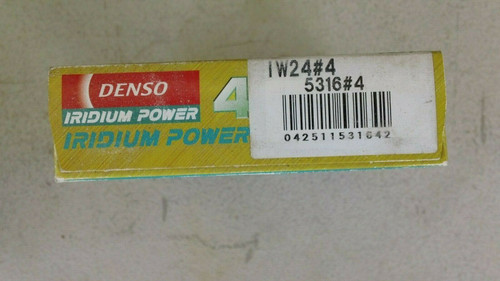 Denso Iridium Spark Plug 4 Pack - IW24 - Nippo Denso Power 5316