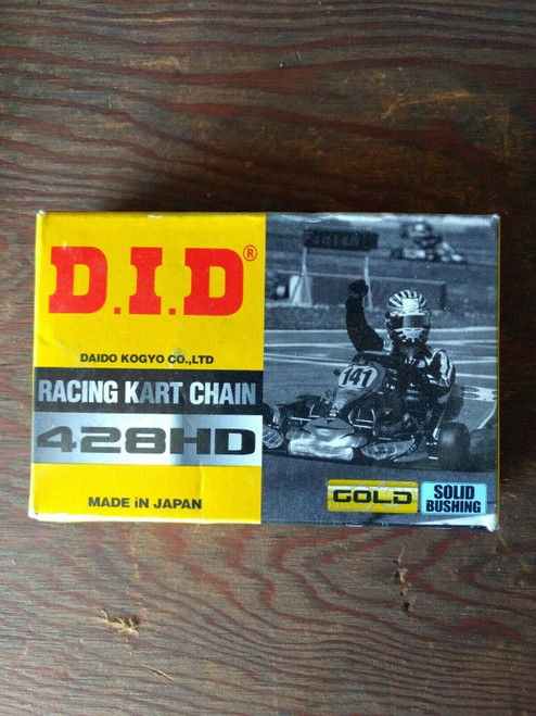 DID #428HD Gold 60 link Chain