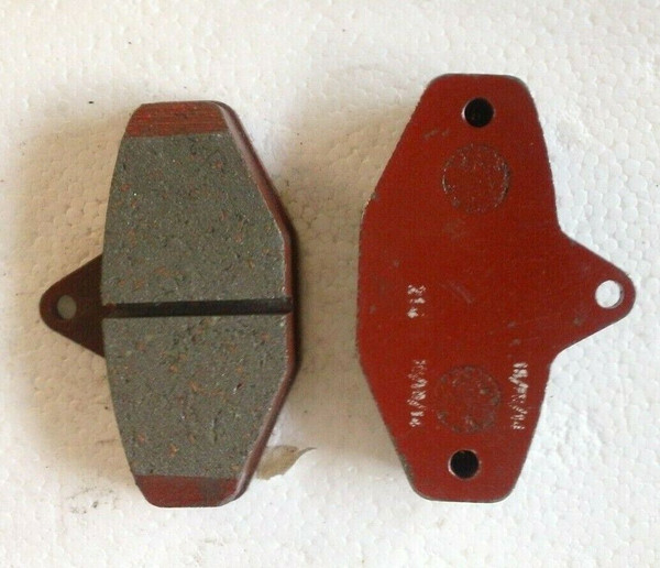 Ven 08 CRG Brake Pads - Pair - New Red 214 AFS.02000 11315