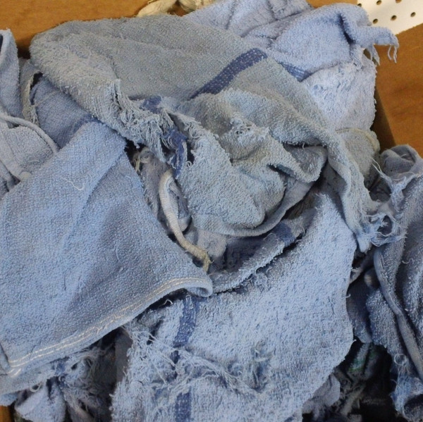 Shop Rags, Clean, Cheap, Used, Repurposed