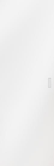 Syntesis® Flush Glass Pocket Door System Coloured SATIN WHITE