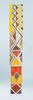 Syntesis® Flush Glass Pocket Door System Handpainted AFRO
