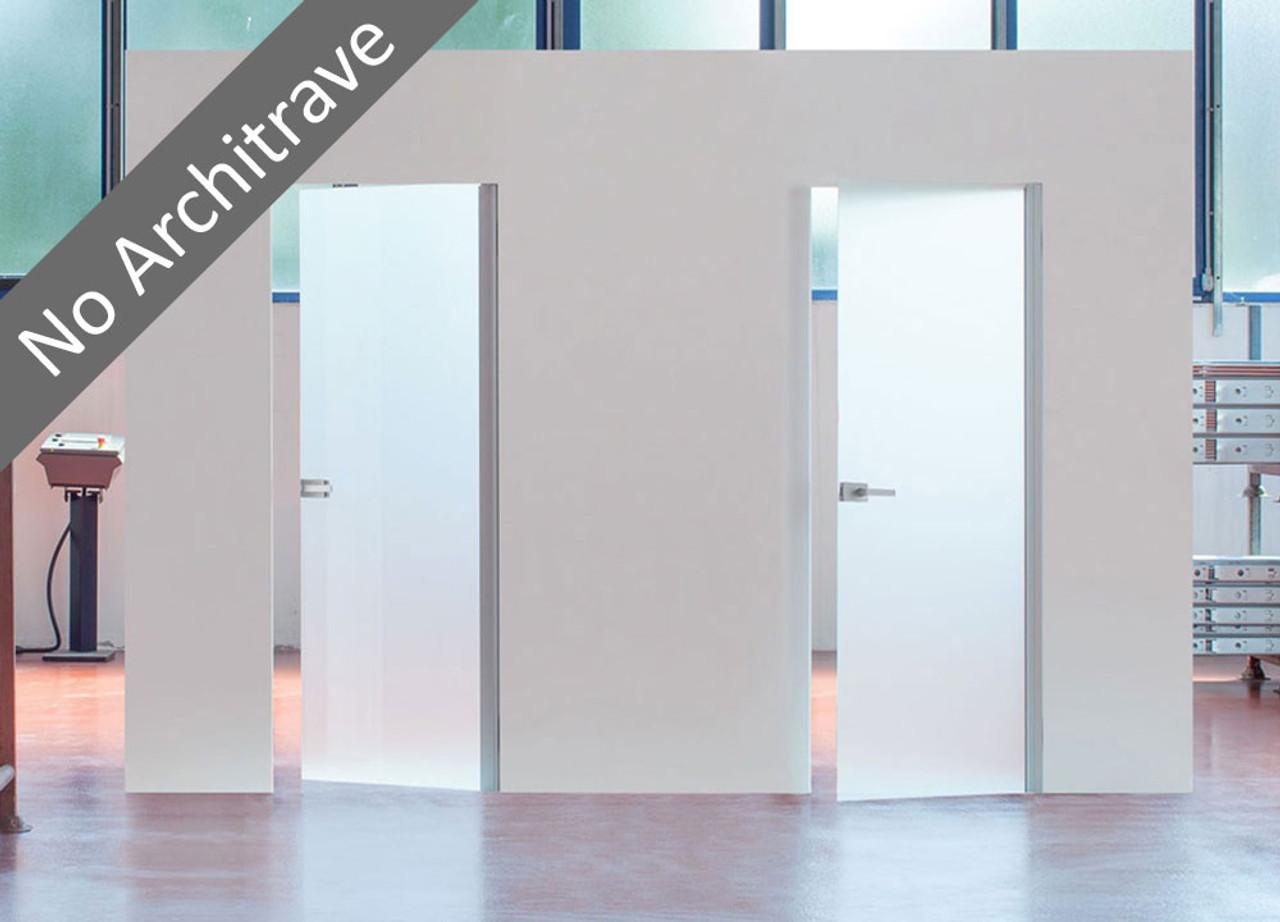 Syntesis 174 Flush Hinged Glass Door Eclisse Uk
