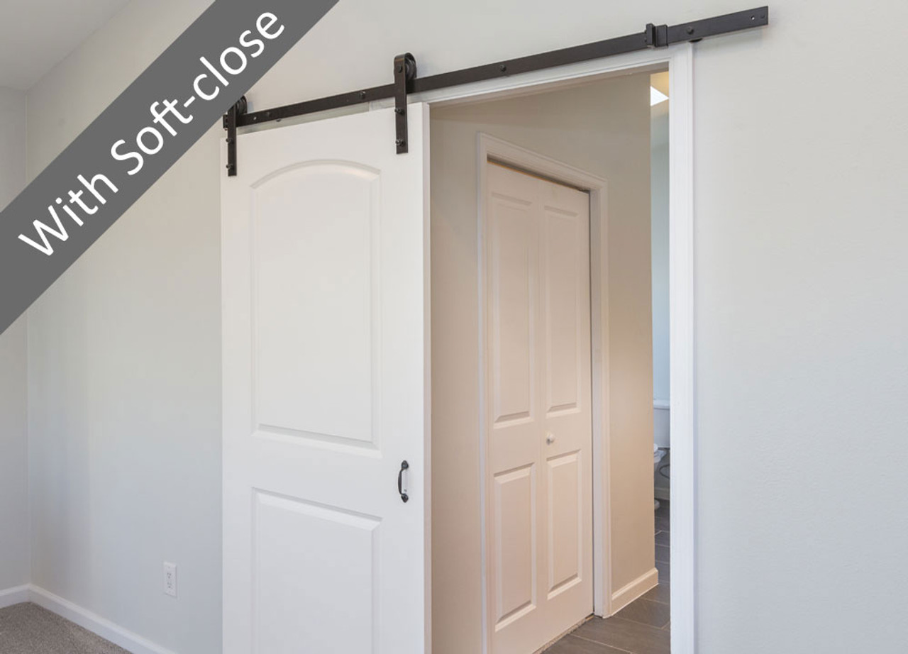 Barolo Barn Door Sliding Door System With Soft Close Eclisse Uk