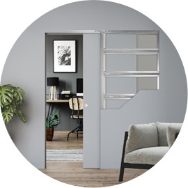 Let Us Inspire You: Create a happy home-office with ECLISSE Pocket Door Systems
