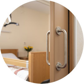 ECLISSE the pocket door system of choice for retirement apartments, assisted living housing and care home projects