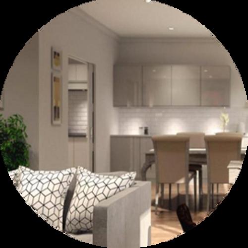 Luxury retirement properties in the Cotswolds incorporate Eclisse pocket doors