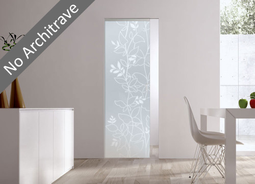 Syntesis® Flush Glass Door Opale