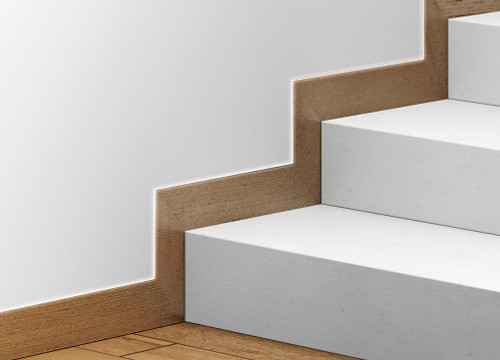 Flush recessed skirting boards with the Syntesis® Flush Skirting