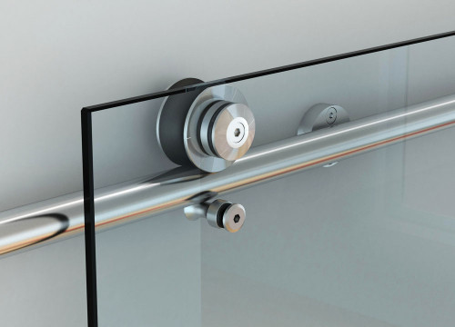VETROGLIDE MINIMA WALL MOUNTED SLIDING GLASS DOOR SYSTEM