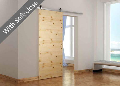 Torino Tech Sliding Door System with soft-close