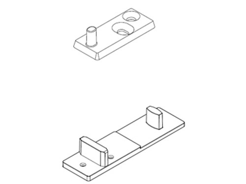 ECLISSE Floor Guide for Telescopic Pocket Door Systems