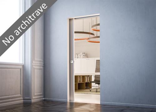 Syntesis® Flush SINGLE Pocket Door System  - New Sizing