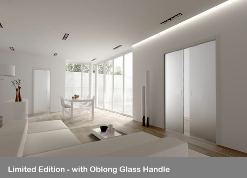 ECLISSE CLASSIC SINGLE AND DOUBLE 8MM GLASS PLAIN SATIN