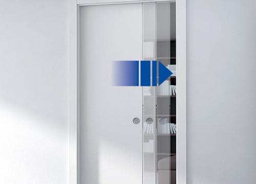 Eclisse Soft Closing Kit for 40-50Kg Wooden Door