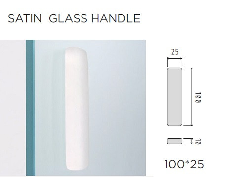 AVAILABLE FREE OF CHARGE WITH A 10MM GLASS DOOR - M009