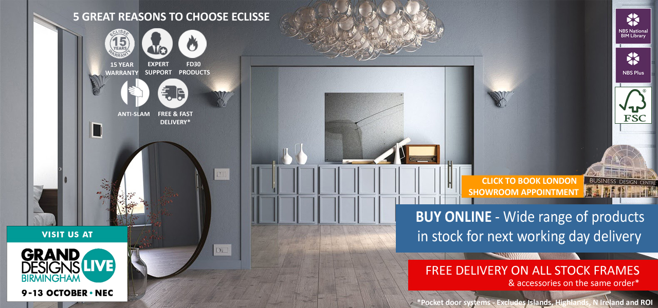 Eclisse Sliding Pocket Doors Online