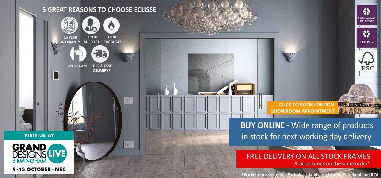 Eclisse Sliding Pocket Doors Online
