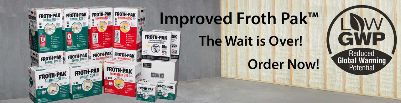 Froth Paks, In Stock and Ready to Ship