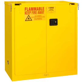 Durham 1030S-50 Cabinet: 30 gallon capacity, self closing doors