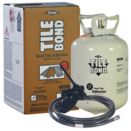 Dow TILE BOND™ Roof Tile Adhesive, Single Part Polyurethane, 23 lb Complete Kit