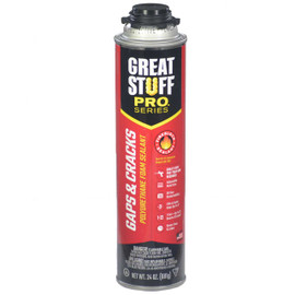 Great Stuff Pro™ Gaps & Cracks Fireblock Foam, 24oz Pro Can