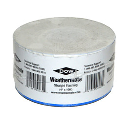 Dow Weathermate 4 Inch Straight Flashing