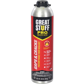 Great Stuff Pro™ Gaps & Cracks Fireblock Foam, 30oz Pro Can