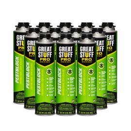 Great Stuff Pro™ Pestblock Foam, 20oz Pro Can, Full Case (12 Cans)